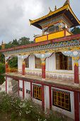 stock photo of darjeeling  - Exterior of Sonada Monastery Darjeeling - JPG