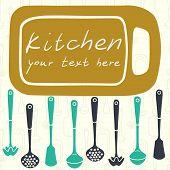 image of ladle  - Kitchen utensils - JPG