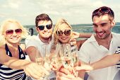 foto of champagne glasses  - vacation - JPG