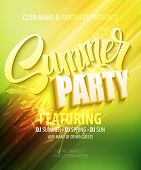 stock photo of club party  - Summer party - JPG