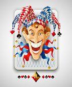 picture of joker  - Picture Jolly Joker - JPG