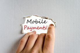 pic of payment methods  - Mobile Payments Concept Isolated Over White Background - JPG