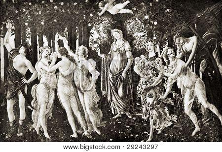 Sandro Botticelli La Primavera Spring