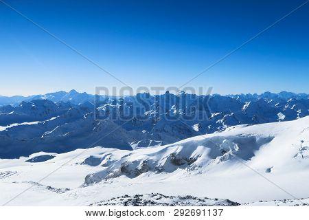 Mountain Ranger Of Caucasian Mountains