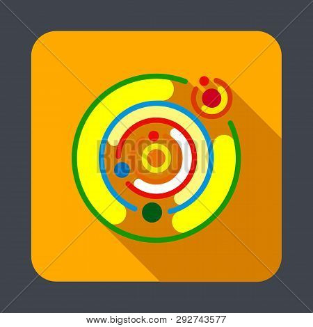 Solar System Concept Background Cartoon