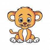 Lion Logo. Lion Head Vector. Lion Head Logo. Lion Icon. Lion King. Animal Logo. Vector Logo Template poster