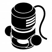 Circular Power Tool Icon. Simple Illustration Of Circular Power Tool Icon For Web Design Isolated On poster