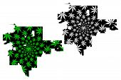 Tulsa City (united States Of America, Usa, U.s., Us, United States Cities, Usa City)- Map Is Designe poster