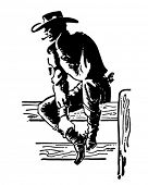 picture of gunslinger  - Rodeo Cowboy  - JPG