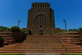 picture of afrikaner  - The Voortrekker Monument is located just south of Pretoria in South Africa - JPG