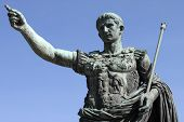 stock photo of emperor  - Statue of Roman emperor Augustus - JPG