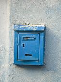 Traditional Old Postbox poster
