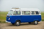 stock photo of camper-van  - Recreational vehicle for long distance overnight stops