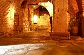image of catacombs  - Catacombs under an orthodox church in Greece - JPG