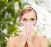 stock photo of rhinitis  - cosmetics - JPG