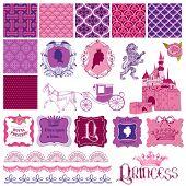 foto of princess crown  - Scrapbook Design Elements  - JPG