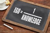 stock photo of einstein  - ego and knowledge concept  - JPG