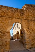 stock photo of mola  - Benassal Arc de la Mola Benasal in Maestrazgo Castellon at spain - JPG