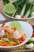 image of thai cuisine  - green papaya salad thai food Thai cuisine  - JPG