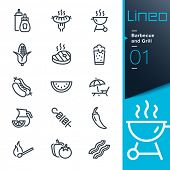 picture of meat icon  - Lineo  - JPG