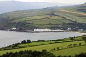 pic of inlet  - The village of Cushendun, County Antrim, Northern Ireland nestles on an inlet in a peaceful glen