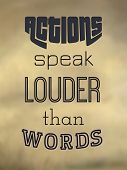 stock photo of proverb  - Typography poster of the popular proverb.