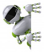 stock photo of robotics  - Fun robot - JPG