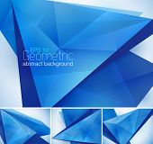 stock photo of fraction  - Geometric abstract background series - JPG