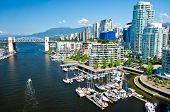 stock photo of street-art  - Beautiful view of Vancouver British Columbia Canada - JPG