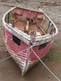 picture of sloop  - Boat seascape photographed at Exmouth in Devon  - JPG