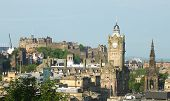image of domination  - Edinburgh skyline - JPG