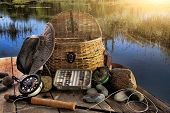picture of fishing rod  - Traditional fly - JPG