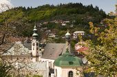 foto of banska  - The historic town of Banska Stiavnica Slovakia - JPG