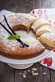 stock photo of cake stand  - Vanilla - JPG