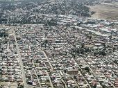 stock photo of ethiopia  - Aerial view of Addis Ababa - JPG