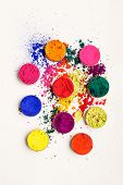 stock photo of holi  - Abstract colorful background  - JPG