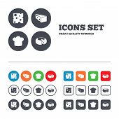 stock photo of meals wheels  - Cheese icons - JPG