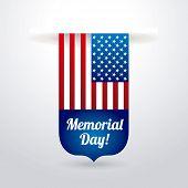 picture of memorial  - Memorial Day design over  background - JPG
