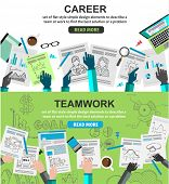 pic of financial management  - Design Concepts for team work and career - JPG