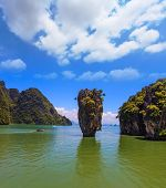 foto of james bond island  - The gulf in the Andaman Sea - JPG