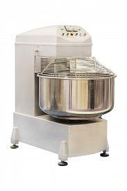 picture of bakeshop  - Industrial dough mixer in bakery - JPG