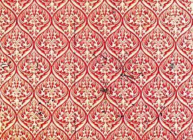 stock photo of linoleum  - Linoleum Wall Scratched Material Background Texture Concept - JPG