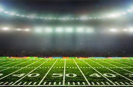 stock photo of light-pole  - On the stadium - JPG