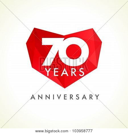 Anniversary 70 years old hearts celebrating vector logo birthday anniversary 70 years old hearts celebrating vector logo birthday greetings with stained glass frame m4hsunfo