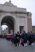 11th November 2010 Remembrance in Ypres