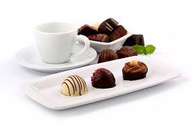pic of bonbon  - Dark chocolate - JPG