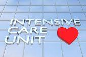 Intensive Care Unit (icu) Concept poster