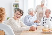 People At Old Age Home poster