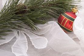 stock photo of christmas dinner  - christmas table - JPG