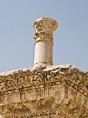 picture of cardo  - Roman Corinthian column details in the main street  - JPG